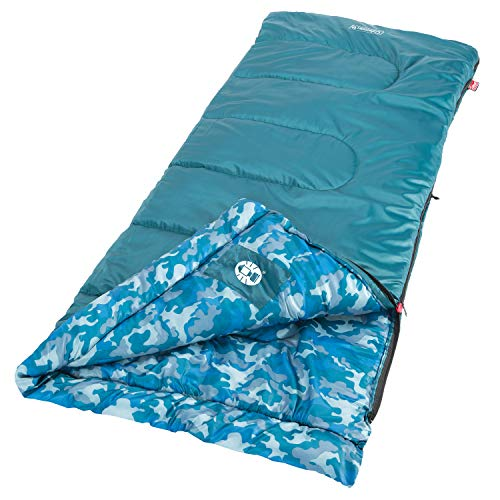 Coleman 2000019647 Sleeping Bag Youth, Azul