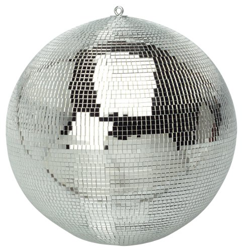 FXLab G007Party-Disco-Kugel (20 cm), glänzend Silber