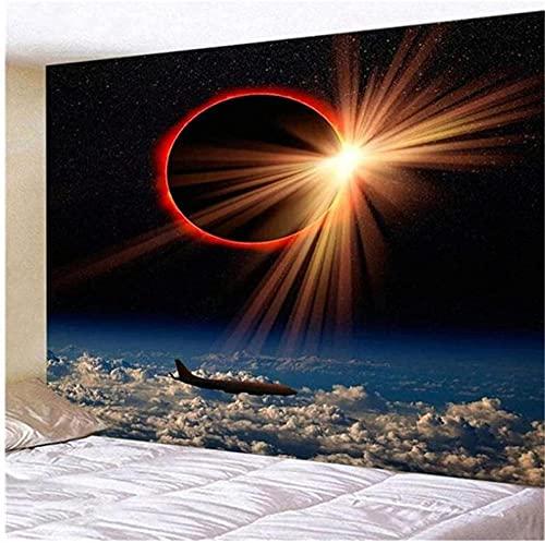 QJIAHQ Cosmic Starry Sky Decorativo Pared Arte Fondo Tela Colgante decoración del hogar Yoga Mat Colcha 80 * 60 Pulgadas