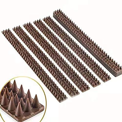 Price comparison product image Haierc Cat Wild Animal Spikes Step Proof Bird Spike Fence Defender Wall Window Railing 10 X 1.6FT