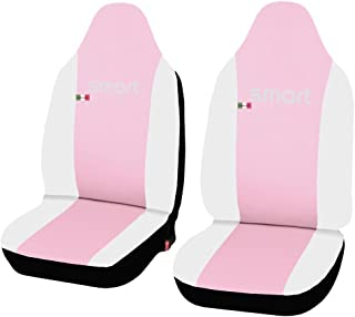 Lupex Shop Smart.2S.EC Pink.BI Car Seat Cover Faux Leather Pink/White