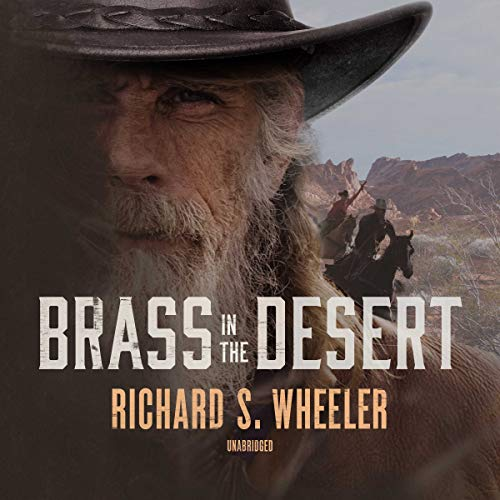 Brass in the Desert audiobook cover art