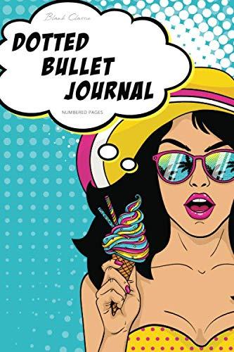 Dotted Bullet Journal: A5 - 5.83x8.27 (Pop Art Ice Cream)