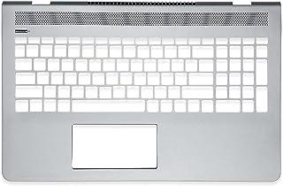 キーボードの縁にハウジング For HP Pavilion 15-CD 15-cd000 15-CD028NA ホワイト TPN-Q190 小さなエンターキー
