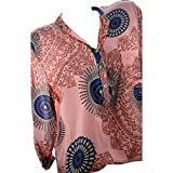 Luckycat Camiseta Mujer Blusas para Mujer Elegantes Verano F
