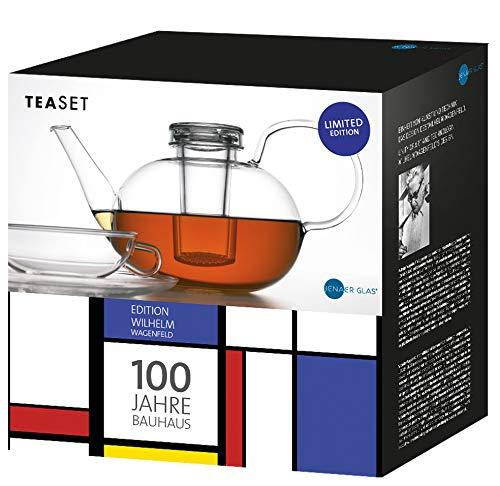 Schott Zwiesel - Jubiläums Teeset - Borosilikatglas - Klar - (BxHxL) - 23,6 x 16,7 x 33,1cm - Volumen: 2L