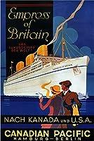 ERZAN大人のパズル1000カナダ太平洋皇后両陛下ハンブルクベルリンドイツクルーズ船ヴィンテージ旅行減圧ジグソーおもちゃキッズギフト