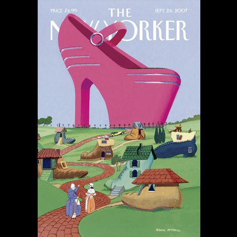 The New Yorker (September 24, 2007) cover art