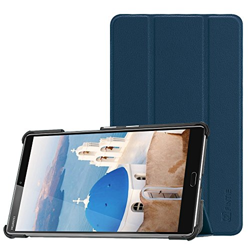 Fintie Hülle Hülle für Huawei Mediapad M5 8 Tablet - Ultra Dünn Superleicht SlimShell Ständer Hülle Cover Schutzhülle Auto Sleep/Wake Funktion für Huawei MediaPad M5 21,34 cm (8,4 Zoll),Marineblau