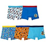Nickelodeon Little Boys' Paw Patrol 5 Pack Boxer Brief, Assorted Prints, 6