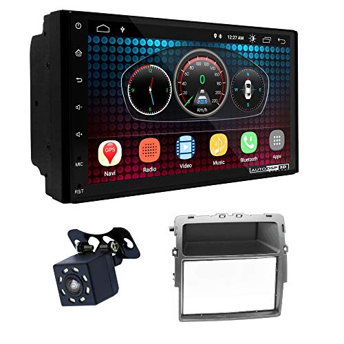 UGAR EX6 7 pollici Android 6.0 DSP Navigazione GPS per Autoradio + 11-463 Kit di Montaggio compatibile per Nissan Primastar (J4) 2011+ / OPEL Vivaro (X83) 2010+ / Renault Trafic II (EL,FL,JL) 2011+