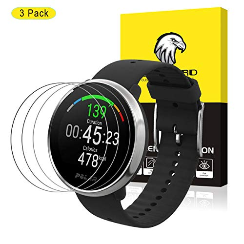 HATALKIN Compatible with POLAR IGNITE Screen Protector, (38mm)Tempered Glass 9H HD Scratch Resistant Screen Protector for POLAR IGNITE Fitness Watch [3 Pack]