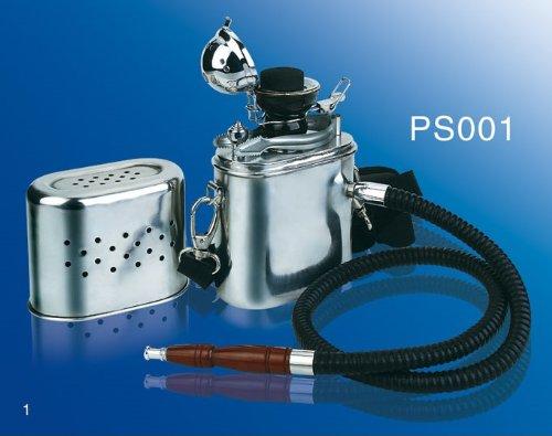 Tragbare metall Wasserpfeife portable metal shisha hooka - die Wasserpfeifenrevolution! Absoluter Kult!