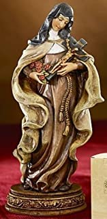 """6"""" Saint St. Theresa Religious Statue Gifts of Faith, The Little Flower, Patron Saint of (Patronage) African missions, AID..."""