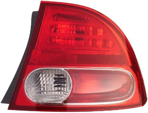 06-08 HONDA Max 50% OFF CIVIC SEDAN HYBRID Right Passenger Light Tail Rear Limited time trial price L