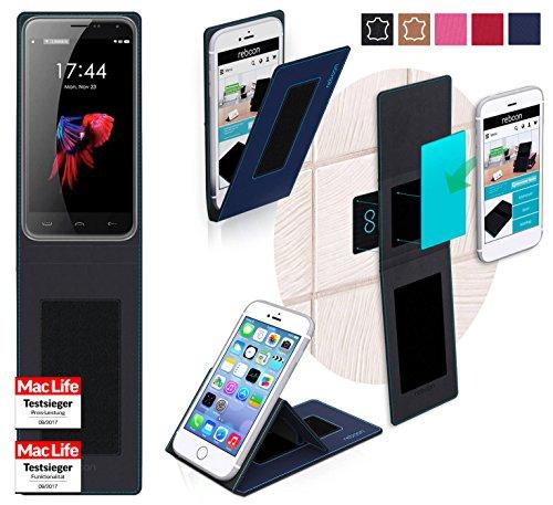 reboon Hülle für HomTom HT3 Pro Tasche Cover Case Bumper | Blau | Testsieger