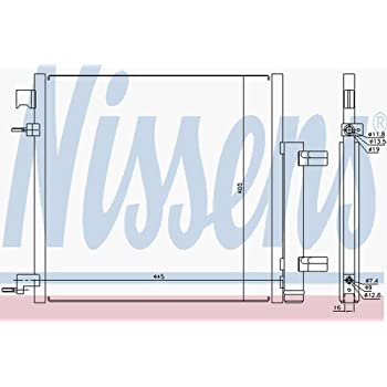 NISSENS 940247 Kondensator Klimaanlage