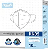 Mascarilla KN95 de 4 capas, Filtración 95% (Paquete de 10 unidades)