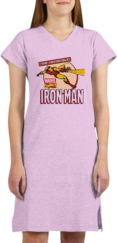 Attention brand Overseas parallel import regular item CafePress Iron Man Nightshirt Action