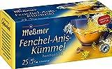 Meßmer Fenchel-Anis-Kümmel - 25 Teebeutel - Vegan -...
