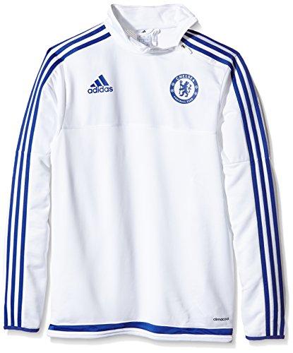 adidas Haut Training Chelsea FC Small Blanc - Blanc/Bleu