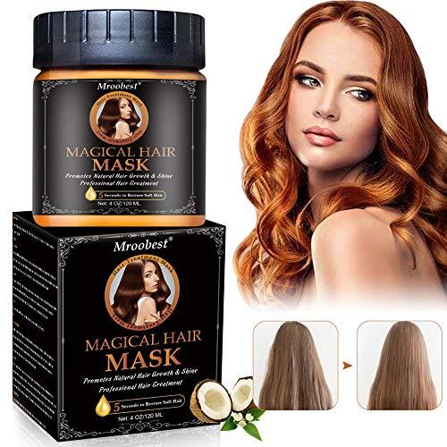 Haarmaske, Hair Mask, Staerkende Haarmaske, Repair Dry Damaged, Fördert natürliches Haarwachstum und Glanz, verbessert die Weichheit und Textur des Haares