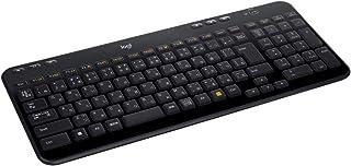 ロジクール ワイヤレスキーボード K360r キーボード ワイヤレス 静音 無線 薄型 小型 テンキー付 Unifying 国内正規品 3年間無償保証
