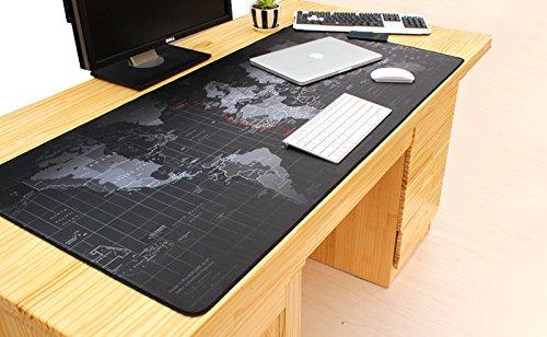 Générique Produit Neuf d'origine Neuf Produit Super Large 800 * 500 * 3 mm Chine Carte Tapis de Souris antidérapant Clavier, Ordinateur Portable, Mac Gaming Mouse Pads