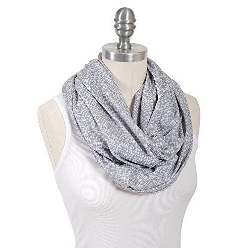 %40 OFF! Bebe au Lait Premium Jersey Nursing Scarf, Lightweight and Breathable Cotton, One Size Fits...
