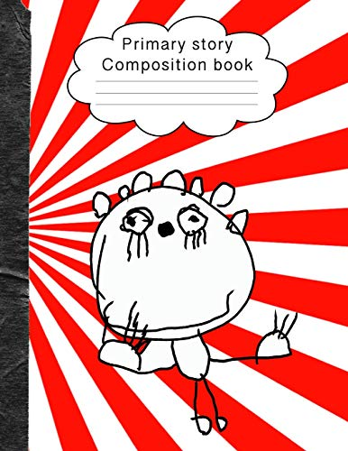 Primary story composition book