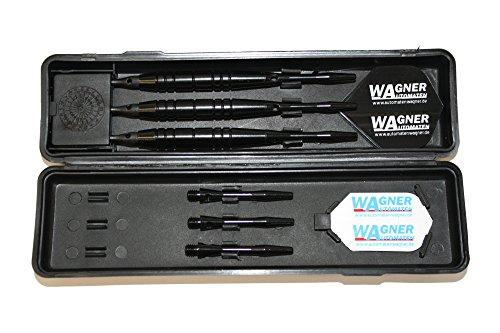 3 Dartpfeile mit Softspitzen, 3 Softdarts WA Black Line in Box