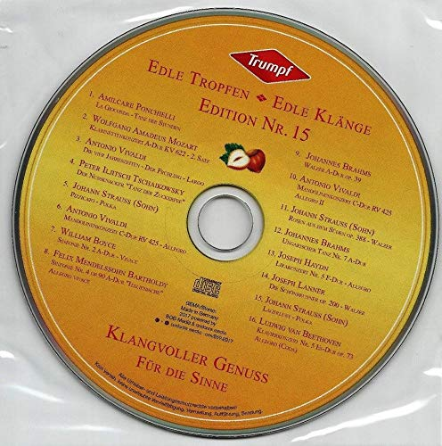 Trumpf - Edle Tropfen - Edle Klänge - Edition Nr. 15 - Klangvoller Genuss für die Sinne