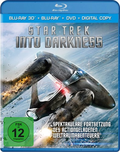 Star Trek 12 - Into Darkness (+ Blu-ray) (+ DVD) (inkl. Digital-Copy)