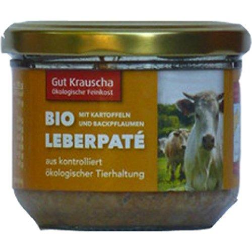 Gut Krauscha Rinder-Leberpaté mit Kartoffeln (200 g) - Bio