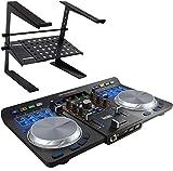 Hercules Universal + keepdrum HA-LS20 Controlador universal para DJ (USB, Bluetooth, incluye soporte...