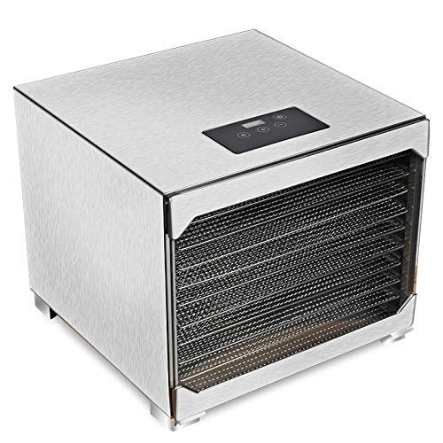 Check Out This Food Dried Fruit Machine,Premium Food Dehydrator Machine, 8/10 Stainless Steel Trays ...