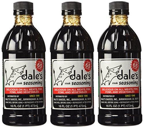 Dales Seasoning Liq Steak, 16oz (Pack of 3)
