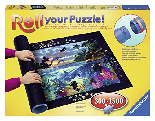 Outletdelocio. Puzzle Roll Ravensburger 17956. Tapete Universal para Transportar/Guardar Puzzles hasta 1500 Piezas