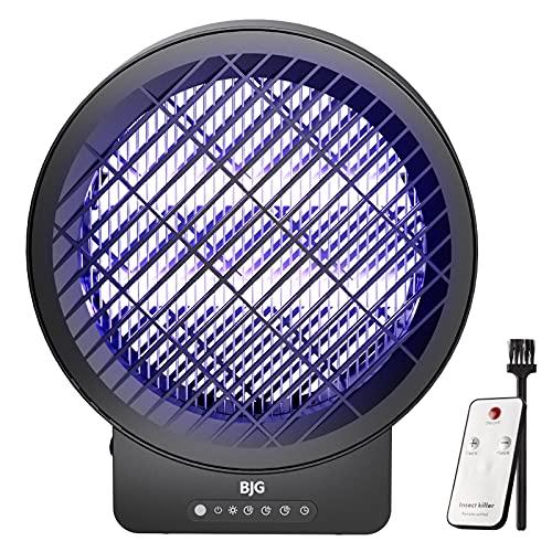 BJG Insektenvernichter Elektrisch, Mückenlampe Mückenfalle Insektenfalle mit UV-Licht,mit Timing...
