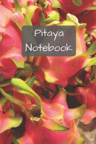 Pitaya Notebook: Squared Notebooks for Everybody, Sketch, Calculate, Drawing and Writing, (110 Pages, Squared, 6 x 9)(Fruity Notebooks)