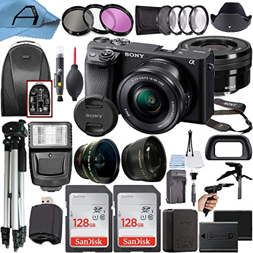 Sony Alpha a6400 Mirrorless Digital Camera 24.2MP...