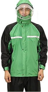 WAY Rainwear 1 Set of Raincoat & Pants Suit Waterproof Split Motorcycle Bike Mountain Bike Body Anti-Storm Rain Riding Tak...