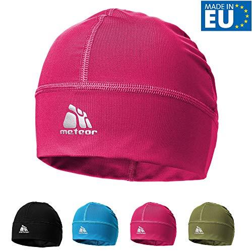 meteor Muts onder Fietshelm Skihelm - Rennende hoed - Beanie perfect voor heren dames jeugd kinderen - Unisex - One size - Vision