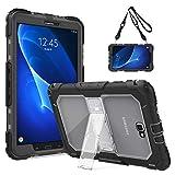 TiMOVO Samsung Galaxy Tab A 10.1 Funda - Shockproof Híbrido Resistente Smart Cover Case para...