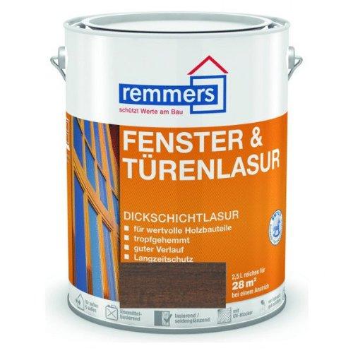 Remmers Fenster & Türenlasur - palisander 2,5L