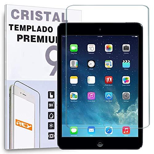 REY Protector de Pantalla para iPad Mini 1, 2, 3, 4 y 5, Cristal Vidrio Templado Premium