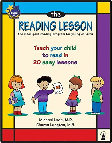 The Reading Lesson Teach your child to read in 20 easy lessons product image