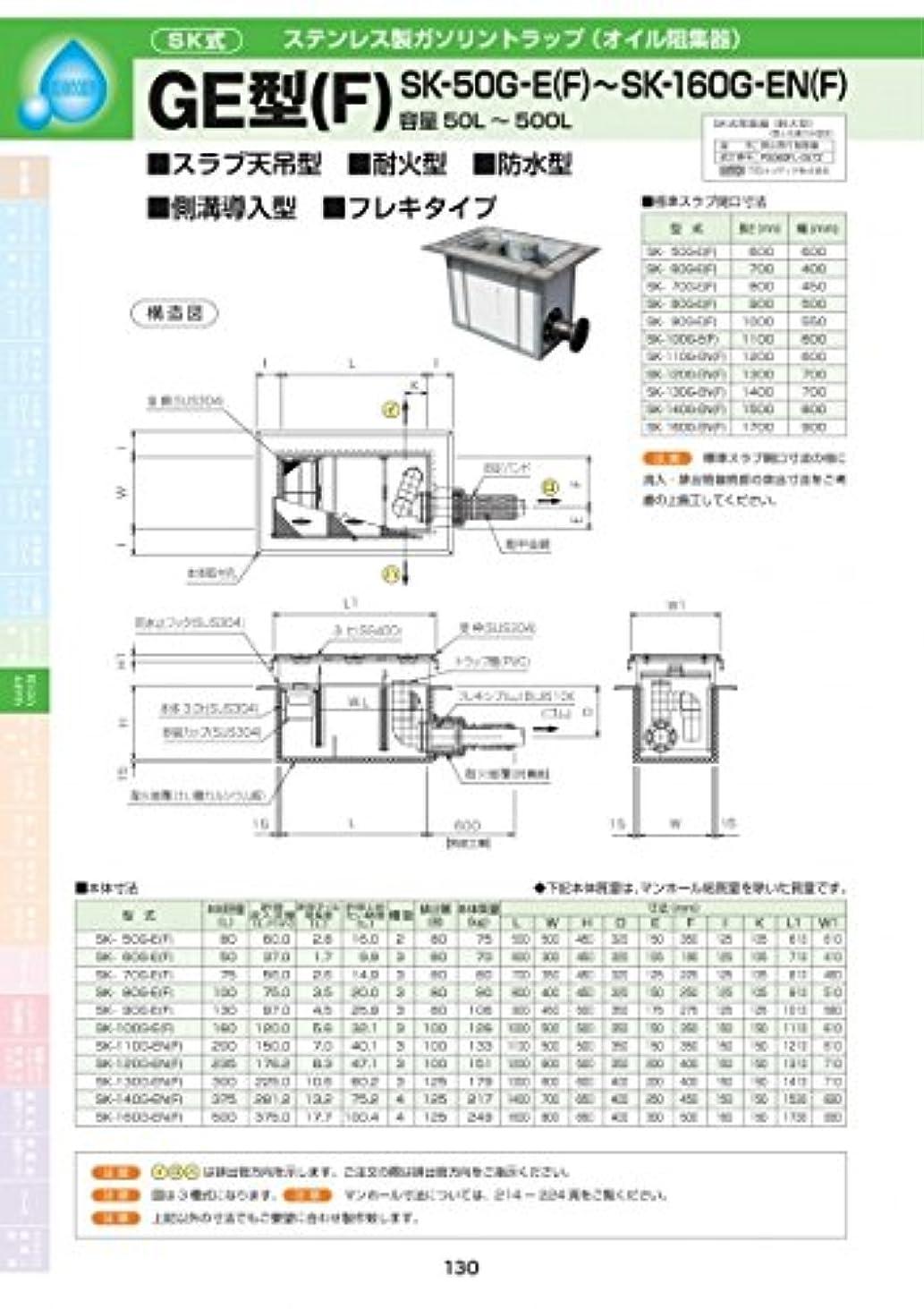 安全性シート却下するGE型(F) SK-160G-EN(F) 耐荷重蓋仕様セット(マンホール枠:ステンレス / 蓋:SS400) T-20