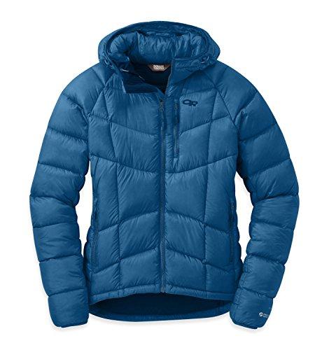 Outdoor Research Doudoune à capuche Sonata Ultra pour femme Bleuet Taille M