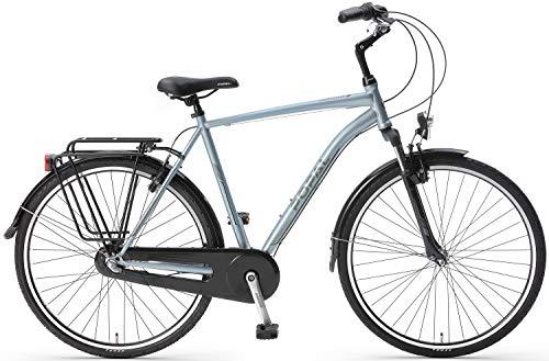 Popal CityFlex Herenfiets 28 inch in de maten 50 en 57cm in de kleuren Grijs en Blauw